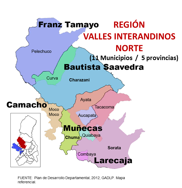 Región  Valles Interandinos Norte